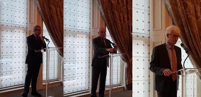 Rencontre avec les conseillers de l'Ambassade de France à Londres