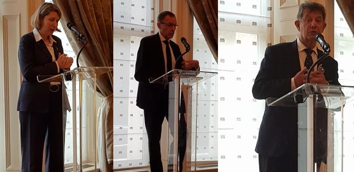 Rencontre avec Mr l'Ambassadeur J.P. Jouyet et les conseillers de l'Ambassade de France à Londres
