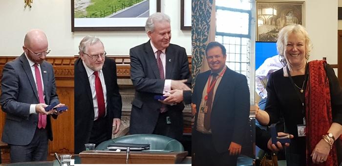 Rencontre avec des parlementaires (chambre des Communes et des Lords) à Londres