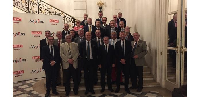 Rencontre avec l'Ambassadeur de Grande Bretagne en France à Paris