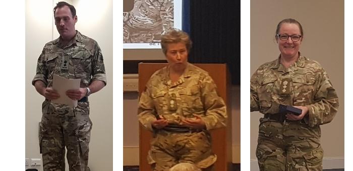 Visite à Sandhurst et au 4th Rifles regiment